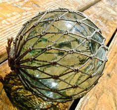 Glass Fishing Float Collectible Sea Spider by lightinawormhole, $49.00