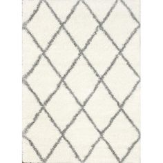 Nuloom Inc Grey and Off White Area Rug