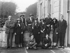 January 1922 Guests at Curraghmore House near Portlaw, Co. Waterford for a Coming of Age party, presumably for a member of the De La Poer Beresford family. Old Images, Old Photos, Family Picture Poses, Coming Of Age, World Best Photos, Vintage Photography, The Past, History, Pictures