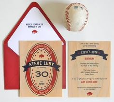 sycamore wood invitations