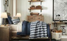 dormitorio para chico estilo industrial                              …