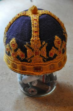 St Edward's Crown by Elin Brissman - spectacular!