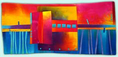 Melody Johnson: Art Quilts - Galleries - Urban Landscapes