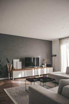 Living Room Modern, Home Living Room, Living Room Decor, Living Roon, Apartment Interior, Living Room Interior, Modern Apartment Decor, Home Room Design, Living Room Designs