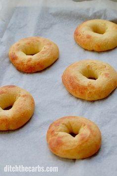 Keto Mozzarella Dough Bagels
