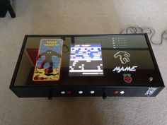 Raspberry Pi Coffee Table Arcade Technology