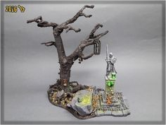 """""""MORDHEIM DEAD TREE"""" SPECIAL PROJECT   Scar_hand Painting"""
