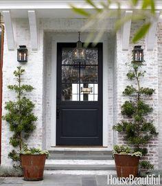 pretty front door