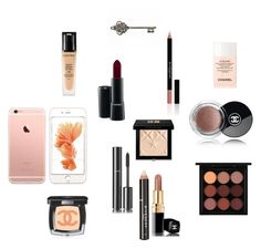 """P]P"" by dankarys on Polyvore featuring Chanel, Givenchy, MAC Cosmetics e Lancôme"