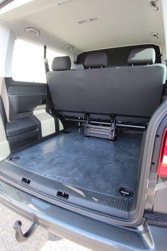 Volkswagen Transporter T6 Tamlans, Foldable Seats