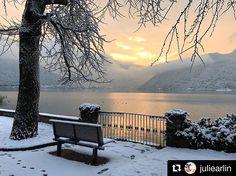Walking in a Winter Wonderland ❄Lugano Lugano, Winter Time, Winter Wonderland, Switzerland, Places To Visit, Walking, Journey, Europe, Times