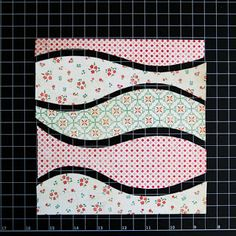 Stacy Cohen: Another My Creative Scrapbook kit layout and a tutorial: how to make wavy patterned paper