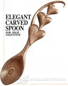 Carving Spoon - Wood Carving Patterns and Techniques | WoodArchivist.com