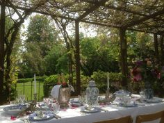 Heel Frans dineren voor een kleiner gezelschap op het Hoogh huys