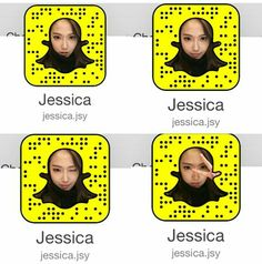 Jessica Jung Official Snapchat Profile Picture
