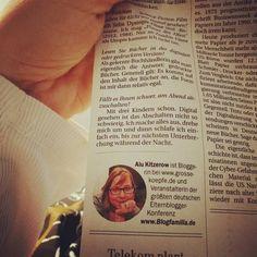 In der Berliner Zeitung lest ihr heute ein Interview mit mir was für mich gut und was gar nicht geht in der digitalen Welt. Ein kleiner Sonnenstrahl im Krankenlager. #digitalisierung #print #blogfamilia #familienblog #Elternblog #mamablog#Papablog #interview