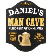 Man Cave Signs - looks like a good uncle and grandfather type of gift