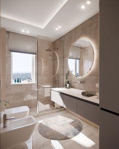 Interior Design Classes, Home Room Design, Dream Home Design, Washroom Design, Bathroom Design Luxury, Modern Bathroom, Bathroom Design Inspiration, Bathroom Layout, House Rooms