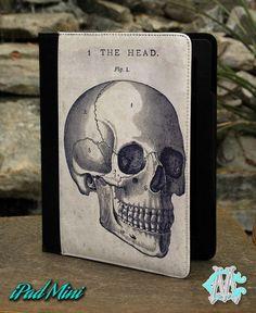 Human Head Diagram Ipad Mini Case by CustomizeMeAz on Etsy, $30.00