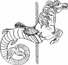 Image Result For Carousel Horses Free Coloring Pages