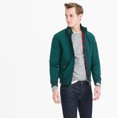 Baracuta G9 Harrington Jacket (racing green) #menswear #casual