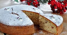 New Year's Desserts, Greek Desserts, Greek Recipes, Veggie Recipes, Greek Christmas, Christmas Bread, Christmas Time, New Years Eve Cake, Vasilopita Recipe