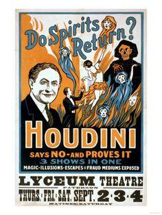 Do Spirits Return  Houdini Says NO - Proves It Show Poster