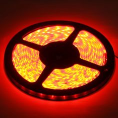 [USD3.44] [EUR3.12] [GBP2.44] Epoxy Waterproof Red LED 3528 SMD Rope Light, 60 LED/M, Length: 5M