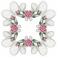 OregonPatchWorks.com - Sets - Pearl Roses Quilt 5