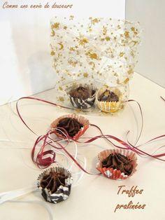 Truffes chocolat praliné – Chocolate praliné truffles – Comme une envie de douceur