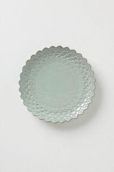 Piecrust Salad Plate / Anthropologie
