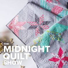 The quilting instructions for the star quilt from Angela Walters