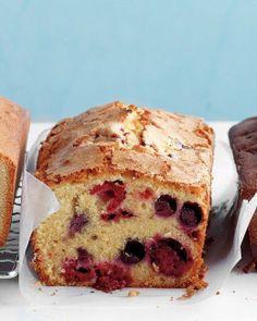 Berry-Cornmeal Pound Cake