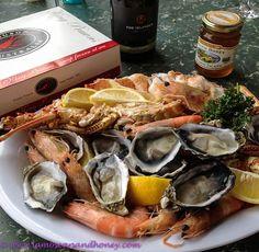Check out the fabulous seafood and shellfish on the Kangaroo Island food trail. Kangaroo Island, Australian Food, Island Food, I Love Food, Wine Recipes, Catering, Ethnic Food, South Australia, Sea Food