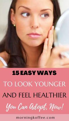 Beauty Skin, Health And Beauty, Beauty Inside, Look Younger, Beauty Recipe, Fashion Beauty, Fashion Tips, Korean Beauty, Good Skin