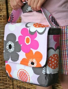 DIY Love Your Lunch Box Sewing Pattern