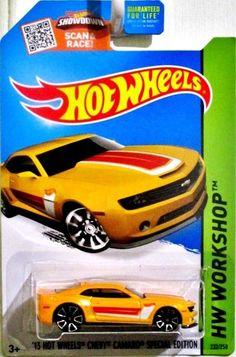 2013 Chevy Camaro Hot Wheels Special Edition 2014 HW Workshop #232/250 Yellow #HotWheels #Chevrolet