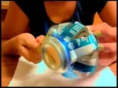 Soda Can Lantern(Tutorial Starts at 2:02)