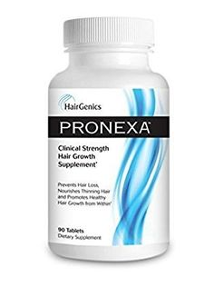 Hairgenics Pronexa Hair Growth Supplement 90 Tablets *** Check out the image by visiting the link. Note: It's an affiliate link to Amazon #hairregrowth