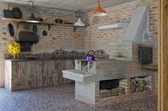 Cocinas de estilo rústico por Carlos Bratke Arquiteto