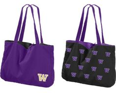 Awesome UW reversible tote!