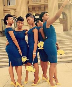 Ohhh I love short cocktail dresses for bridesmaids dresses. African Traditional Wedding Dress, African Wedding Dress, African Dress, Long Bridesmaid Dresses, Wedding Bridesmaids, Bridal Dresses, Wedding Attire, Wedding Gowns, Lace Dress Styles