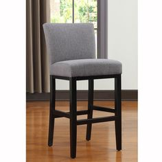 Overstock This Portfolio Orion inch barstool features a slightly contoured back and