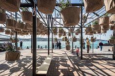 Sky garden: Un jardín aéreo e interactivo creado por SO? en Estambul.