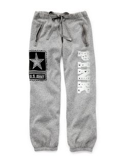 Victorias secret - army sweats! need these...