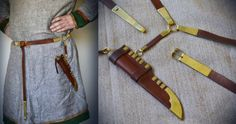 Knife and belt kit consisting of the Viking knife from Gotland, and the Viking belt with suspension loop.     http://jorgencraft.com/index.php?route=product/category&path=61_99&page=1