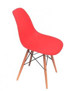Replica Eames DSW Chair   RedWish Chair with Seagrass Seat by Citta Design   Citta Design  . Dsw Replica Chairs Nz. Home Design Ideas