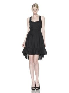My prediction: sellout in hours.    Cynthia Rowley Alice's Pleated Dress.  Classy!  (And 80% off at MYHABIT!) $68