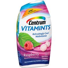 Centrum VitaMints MultivitaminMultimineral Supplement Raspberry Mint Flavor 120Count Chewables * Click on the image for additional details. (This is an affiliate link and I receive a commission for the sales)