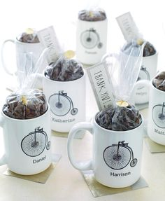 Coffee-Lover Wedding Favors | 10 Edible Wedding Favors (Almost Too Pretty To Eat!) | https://www.theknot.com/content/edible-wedding-favors